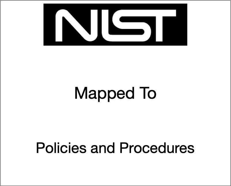 NIST SP 800-53 Mapped to Policies and Controls